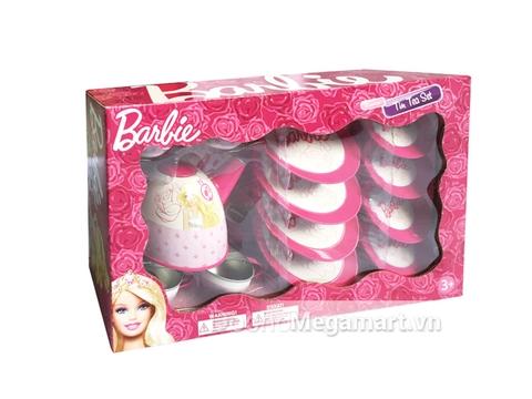 Bộ đồ chơi Barbie Bộ ấm trà Barbie xinh xắn 15 món
