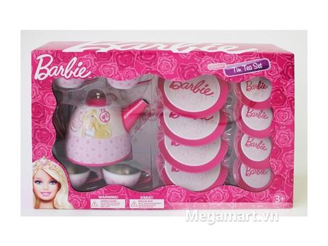 Barbie Bộ ấm trà Barbie xinh xắn 15 món cho bé những giờ phút vui chơi sôi nổi