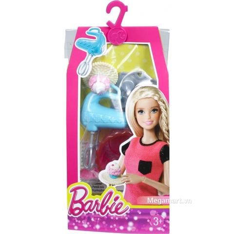Barbie Bộ phụ kiện nhà cửa CFB50 - Hình ảnh đóng gói từ bên ngoài