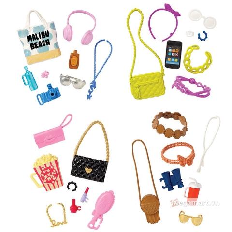 Barbie Bộ phụ kiện thời trang - Các loại phụ kiện có trong bộ sản phẩm này