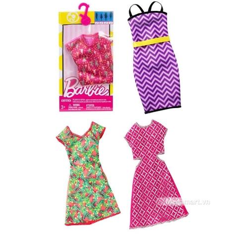 Barbie Bộ phụ kiện váy đầm thời trang - nội thất độc đáo và hiện đại