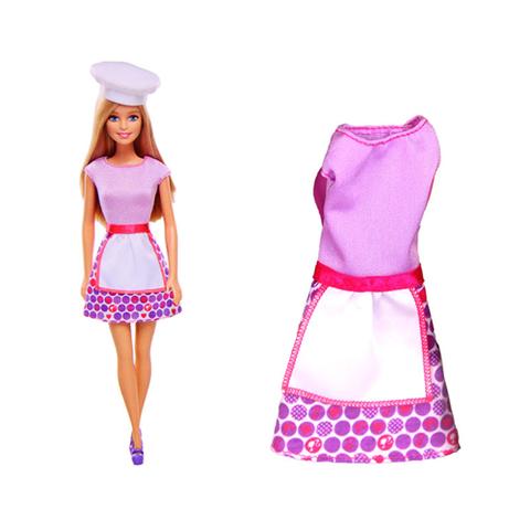 Barbie Bộ sưu tập Barbie thời trang nghề cho bé thỏa sức sáng tạo