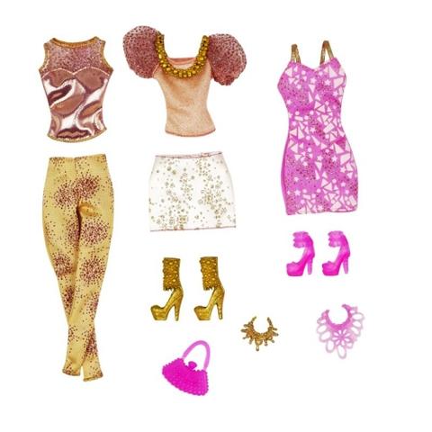 Các chi tiết có trong Đồ chơi búp bê Barbie Bộ sưu tập ngọt ngào