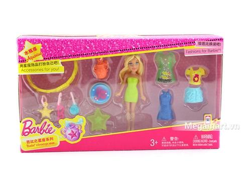 Barbie Bộ sưu tập thời trang búp bê tí hon - bộ đồ chơi cung hoàng đạo