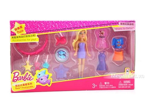 Barbie Bộ sưu tập thời trang búp bê tí hon - Hình ảnh vỏ hộp sản phẩm