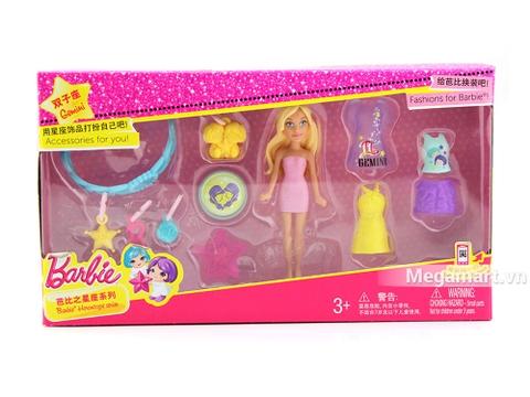 Barbie Bộ sưu tập thời trang búp bê tí hon - độc đáo và hiện đại