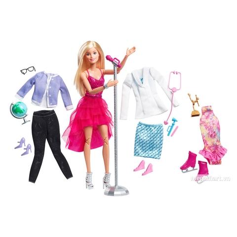 Barbie Bộ sưu tập thời trang nghề nghiệp DVJ58 - Các trang phục có trong bộ sản phẩm barbie này
