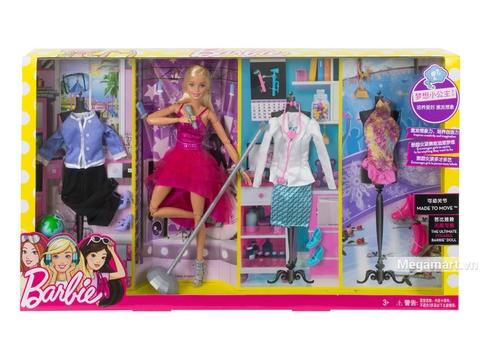 Barbie Bộ sưu tập thời trang nghề nghiệp DVJ58 - Vỏ hộp sản phẩm