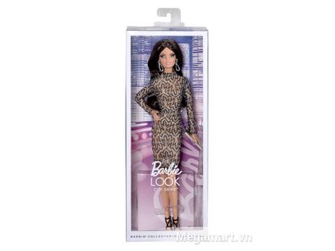 Vỏ hộp sản phẩm Barbie thời trang thảm đỏ - Váy ren
