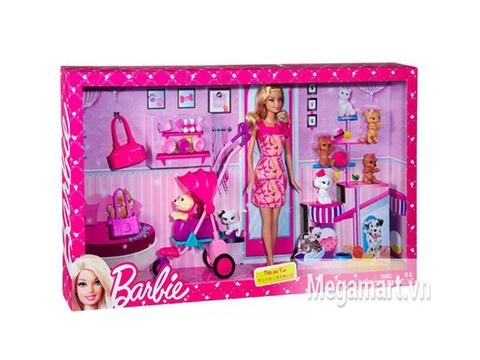Hình ảnh bên ngoài sản phẩm Barbie Cửa Hàng Thú Cưng
