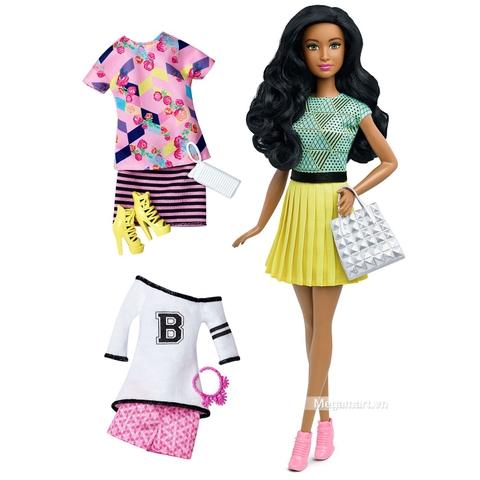 Barbie Fashionistas - 34 B thời trang và phụ kiện gồm nhiều chi tiết đẹp