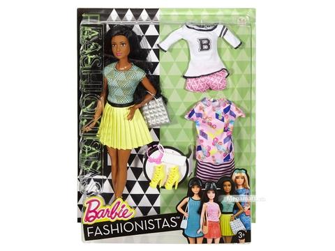 Barbie Fashionistas - 34 B thời trang và phụ kiện với vỏ hộp và đóng gói chắc chắn