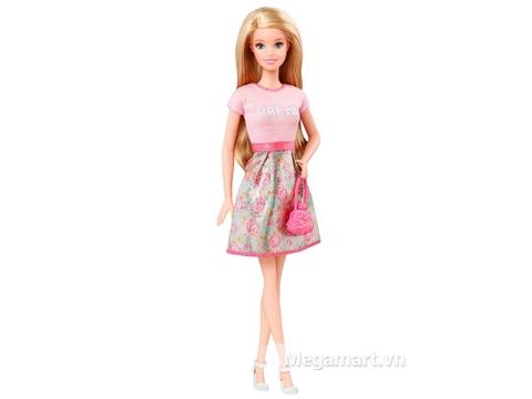 Barbie Fashionistas - Áo Dream hồng với trang phục có thể thay đổi linh hoạt