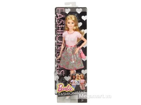 Hộp đựng Barbie Fashionistas - Áo Dream hồng