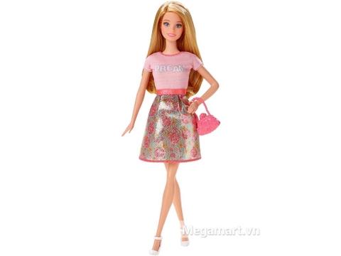Barbie Fashionistas - Áo Dream hồng giấc mơ ngọt ngào của mọi bé gái