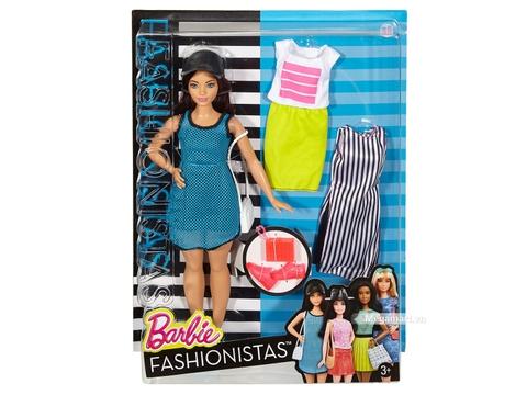 Barbie Fashionistas - Quần áo thể thao dạo phố với vỏ hộp và đóng gói chắc chắn