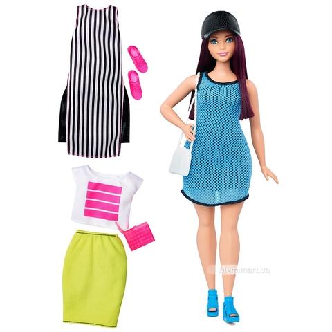 Barbie Fashionistas - Quần áo thể thao dạo phố gồm nhiều chi tiết đẹp