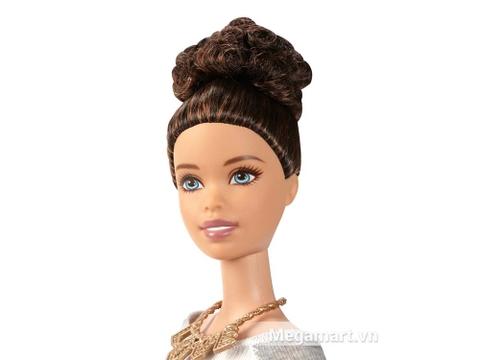 Đồ chơi Barbie Fashionistas - Váy caro tím giúp tìm ra phong cách thời trang của bé