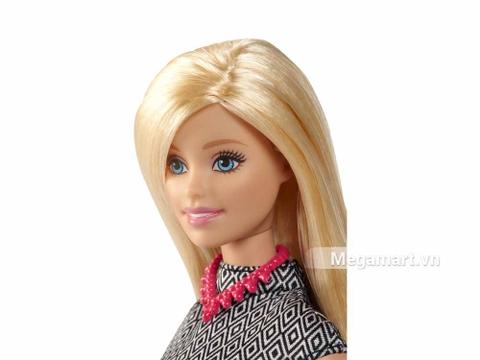 Bộ đồ chơi Barbie Fashionistas - Váy họa tiết đen trắng mang đến cho bé những giờ phút vui chơi bổ ích