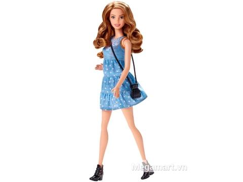 Barbie Fashionistas - Váy vải giúp bé bộc lộ năng khiếu thời trang