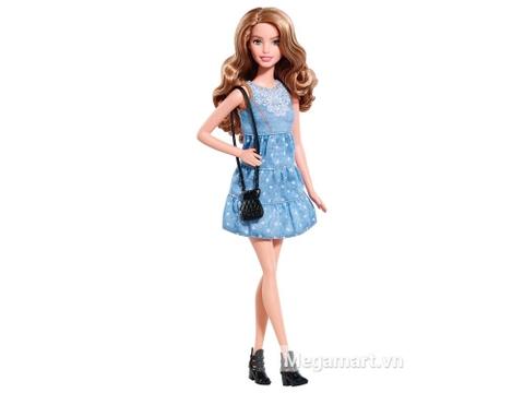Búp bê Barbie Fashionistas - Váy vải xinh xắn cho bé