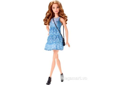 Barbie Fashionistas - Váy vải búp bê sành điệu