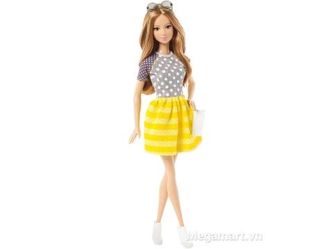 Barbie Fashionistas - Váy vàng & áo chấm bi xinh xắn