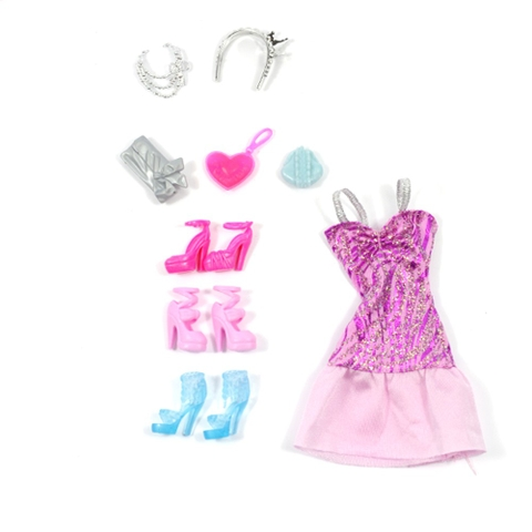 Trẻ được thỏa sức tượng tượng với Barbie lung linh và lấp lánh