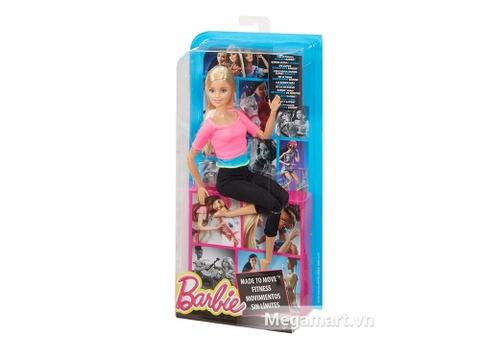 Barbie Made To Move - Áo hồng - Vỏ hộp của sản phẩm