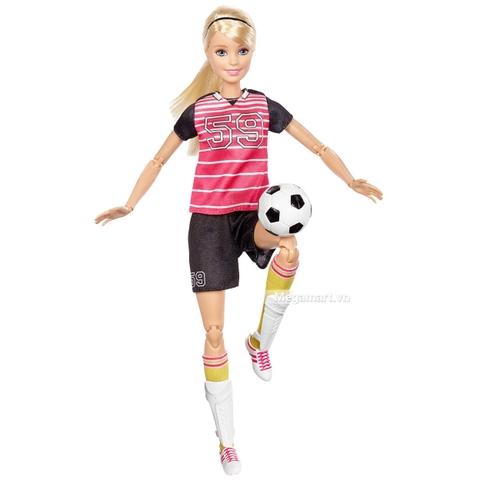 Barbie Made To Move cầu thủ bóng đá-DVF69 - Búp bê đang tâng bóng đá
