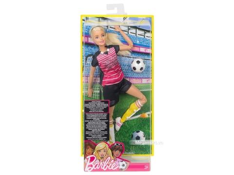 Barbie Made To Move cầu thủ bóng đá-DVF69 - Cách thức đóng hộp sản phẩm