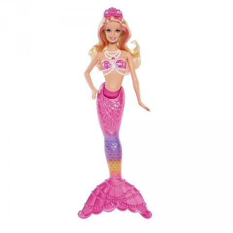 Barbie Nàng tiên cá Ngọc Trai được làm từ chất liệu nhựa đặc biệt an toàn