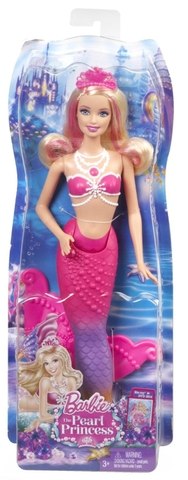 Hình ảnh trọn bộ Barbie Nàng tiên cá Ngọc Trai