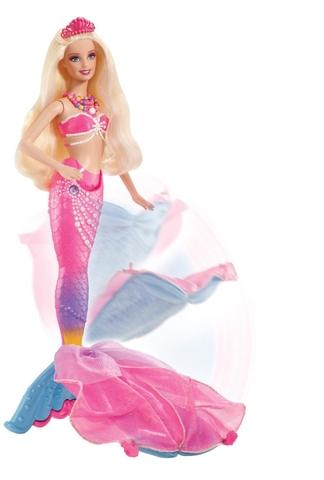 Barbie Nàng tiên cá Ngọc Trai với nàng tiên cá bắt mắt