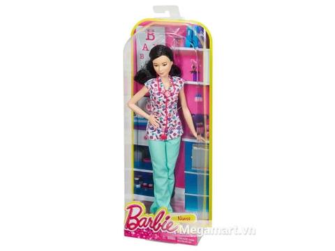 Hình ảnh Barbie nghề nghiệp - Y tá Lea từ bên ngoài