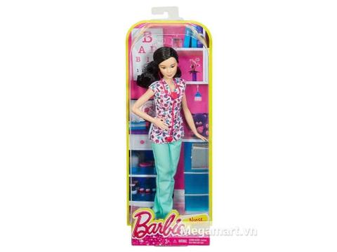 Bộ đồ chơi Barbie nghề nghiệp - Y tá Lea giúp định hướng nghề nghiệp cho bé