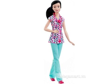 Barbie nghề nghiệp - Y tá Lea - Chiếc váy tạo lên điểm nhấn