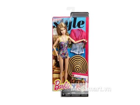 Hình ảnh vỏ ngoài sản phẩm Barbie phong cách nghỉ mát