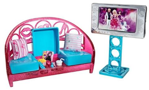 Mô hình Barbie Phòng giải trí tại gia chân thực cho bé thỏa sức khám phá