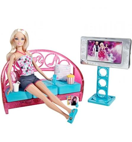 Barbie Phòng giải trí tại gia thiết kế đầy sáng tạo