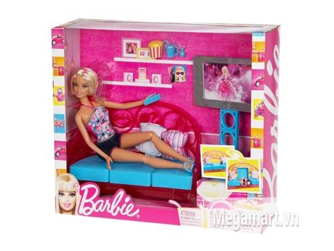 Hình ảnh vỏ ngoài Barbie Phòng giải trí tại gia