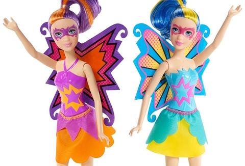 Barbie Siêu nhân mặt nạ Barbie cho bé giờ phút vui chơi vui vẻ