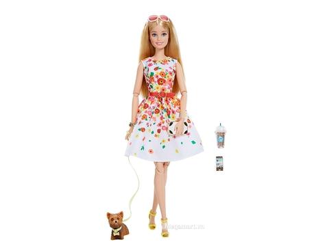 Barbie the Look - Dạo công viên-DVP55 - các chi tiết có trong bộ đồ chơi búp bê