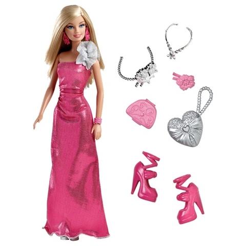 Toàn bộ các chi tiết có trong bộ đồ chơi Barbie Thời trang