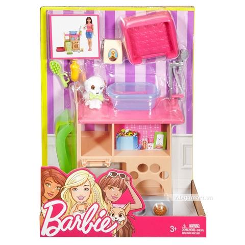 Barbie Thú cưng - Trạm thú nuôi - Hình ảnh vỏ hộp sản phẩm