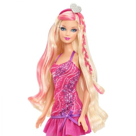 Barbie Tiệm làm tóc Barbie bộ đồ chơi an toàn cho sức khỏe trẻ nhỏ
