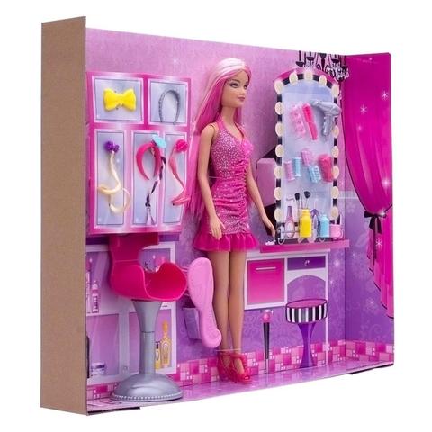 Toàn bộ chi tiết trong Barbie Tiệm làm tóc Barbie