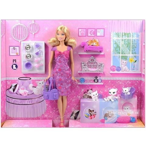 Toàn bộ chi tiết xuất hiện trong Barbie và mèo cưng