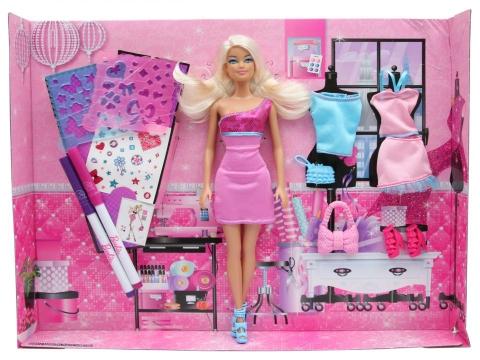 Toàn bộ các chi tiết có trong đồ chơi búp bêBarbie Vui thiết kế cùng Barbie