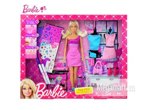 Hình ảnh bên ngoài Barbie Vui thiết kế cùng Barbie